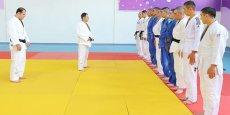 Mədət Quliyev hərbçilərə cüdo üzrə master-klass keçib - FOTO