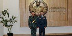 General Rəsul Çunayevə rütbə verdi - FOTO