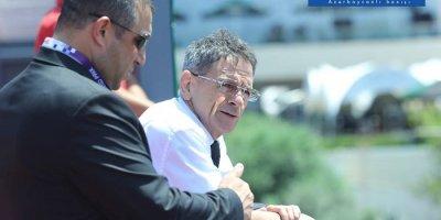 Mədət Quliyev Formula-2 yarışlarını izlədi - FOTOLAR