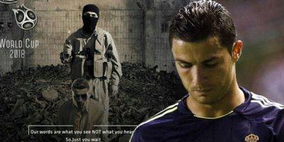 İŞİD-dən daha bir şok təhdid: Ronaldo diz çöküb... - FOTO