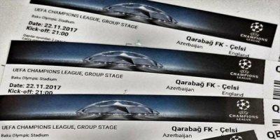 """""""Qarabağ"""" - """"Çelsi"""" oyununa nə qədər bilet satılıb?"""