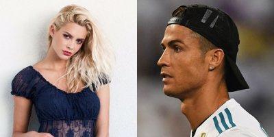 Ronaldo onunla da sevgili imiş - FOTOLAR
