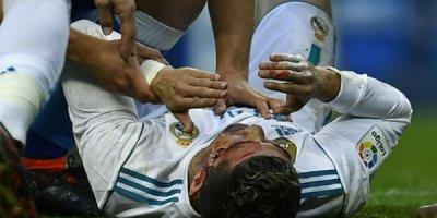 Ronaldo qan içində qaldı
