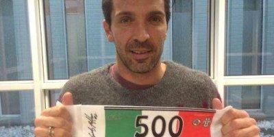 Buffon 500-ə çatdı