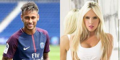 Neymar məşhur gözəli hədəfə aldı - FOTOLAR