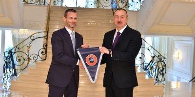 UEFA başqanı İlham Əliyevə məktub göndərdi