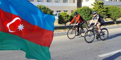 Mədət Quliyev və Elçin Quliyev veloyürüşdə - FOTOLAR