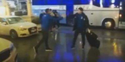 Millimizi Kosovada cəmi bir azarkeş qarşıladı - VİDEO