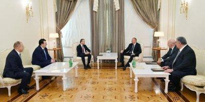 İlham Əliyev FIDE prezidentini qəbul edib