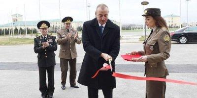 Prezident FHN-in idman-sağlamlıq klubunun açılışında - FOTOLAR