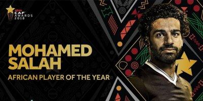 Məhəmməd Salah yenə Afrikanın ən yaxşısı oldu
