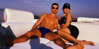 Ronaldo və sevgilisinin Dubay istirahəti - FOTOLAR