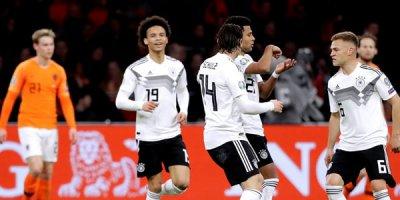 Hollandiya - Almaniya oyununda 5 qol - VİDEO