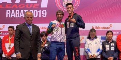 Rafael Ağayev Premyer Liqada bürünc medal qazandı - FOTOLAR