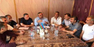 Süleymanov Gəncədə futbol ictimaiyyətinin nümayəndələri ilə görüşdü