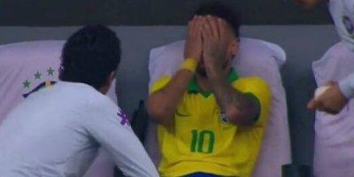 Neymar zədələndi, göz yaşı tökdü - FOTO