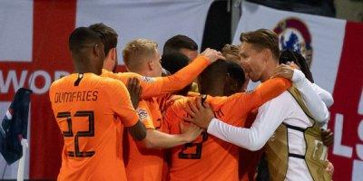 Hollandiya İngiltərədən üstün oldu - VİDEO