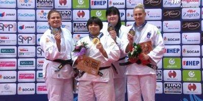 Cüdoçumuz Zaqrebdə gümüş medal qazandı