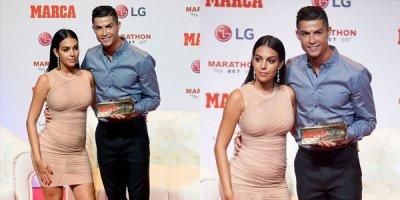 Ronaldonun sevgilisi gecəyə damğa vurdu - İDDİA