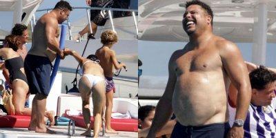 Ronaldonun çəkisi görənləri şoka saldı - FOTOLAR