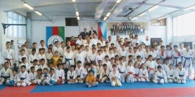 Arpaçay Karate Klubu təlim-məşq toplantısı keçirib - FOTOLAR