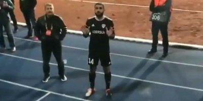 Rəşad Sadıqov azərbaycanlı azarkeşləri necə sakitləşdirdi? - VİDEO