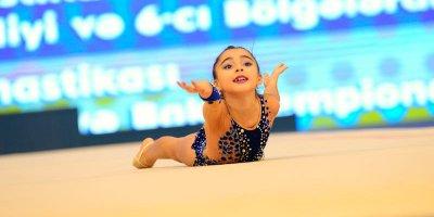 Bədii gimnastikası üzrə Azərbaycan birinciliyi və Bakı çempionatının son günü başlayıb - FOTOLAR