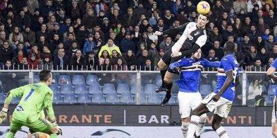 Ronaldodan möhtəşəm qol: 2.56 metr hündürlükdən... - FOTO/VİDEO