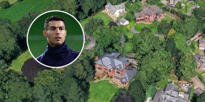 Ronaldo villasını satır