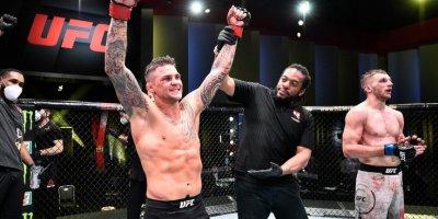 UFC Veqas 4: Huker Porye ilə bacarmadı