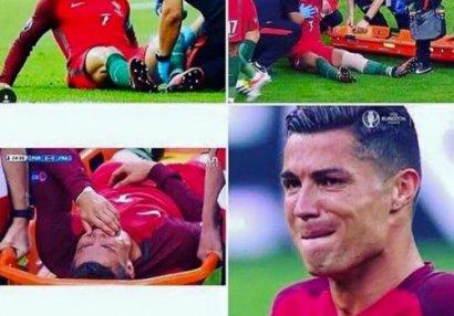 Azərbaycanlı müğənni Ronaldonu qınadı - FOTO