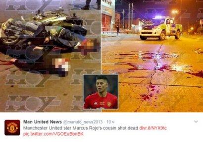 Polis məşhur futbolçunun qardaşını güllələdi - FOTO