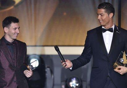 """Ronaldo: """"Messi mənim rəqibim deyil"""""""