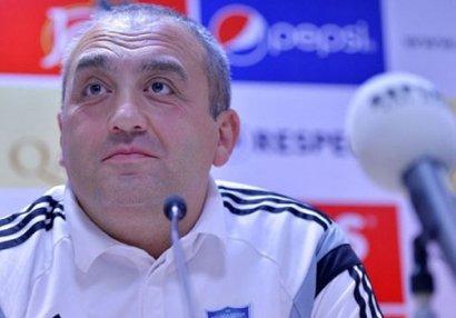 """""""Samtredia""""nın baş məşqçisi """"Qarabağ""""a meydan oxudu"""