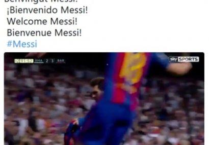"""Lionel Messi """"Real""""da - FOTO"""