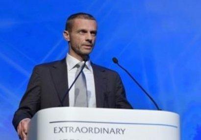 """UEFA prezidenti:""""Bu səhv bir də təkrarlanmayacaq"""""""