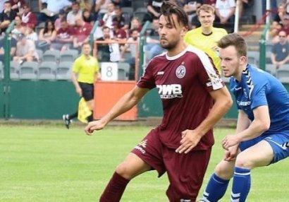 Azərbaycanlı futbolçu Almaniyada het-trik etdi