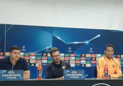 """""""Roma""""nın baş məşqçisi: """"Texniki baxımdan """"Qarabağ""""ı üstələyirik"""""""