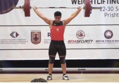 İdmançımız 6 Avropa rekordu yeniləyərək qızıl medal qazandı - FOTO