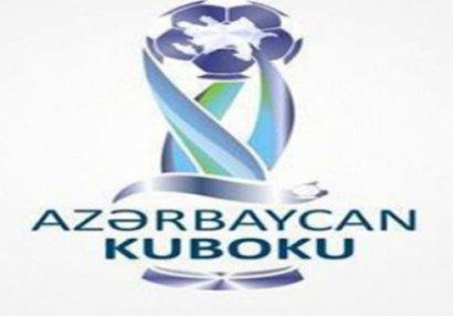 Azərbaycan Kuboku: 1/8 finalın bütün cütlükləri