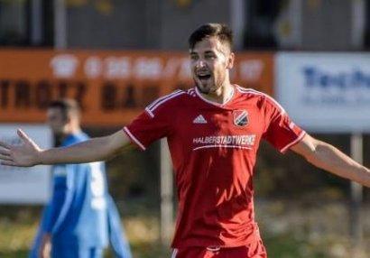 Azərbaycanlı futbolçu Almaniyada bombardir oldu