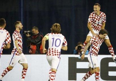Xorvatiya Yunanıstanı ilk oyunda bitirdi - VİDEO