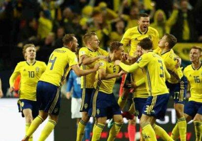İsveç İtaliyaya qalib gəldi - VİDEO