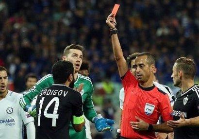 UEFA Rəşad Sadıqovun cəzasını açıqladı