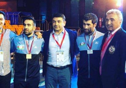 Rafael Ağayev 11-ci dəfə Avropa çempionu oldu