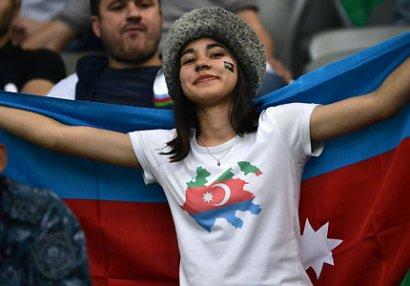 Qazaxıstan - Azərbaycan oyunundan FOTOLAR