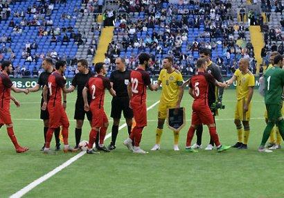 Milli komandamız Astanada darmadağına üzüldü