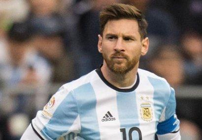 Messi Argentina millisindən imtina etdi