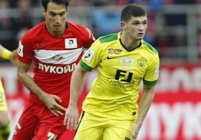 Azərbaycanlı futbolçu Rusiya millisində