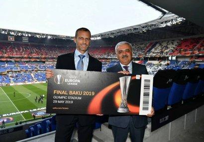 AFFA-dan UEFA prezidentinə dəstək